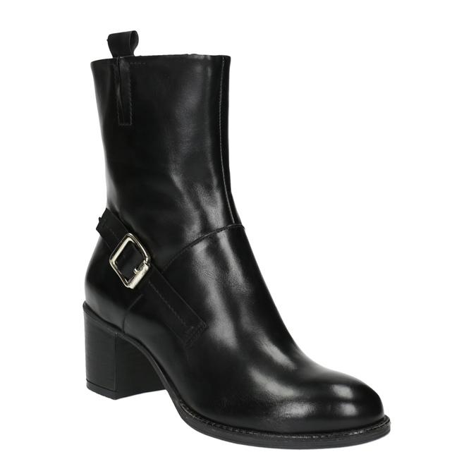Dámska členková obuv bata, čierna, 694-6359 - 13