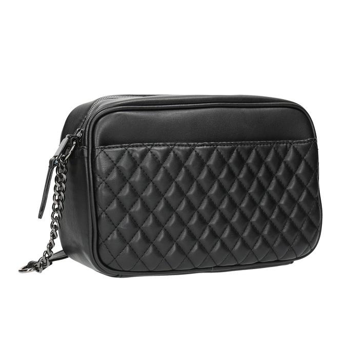 Dámska Crossbody kabelka s prešívaním bata, čierna, 961-6158 - 13