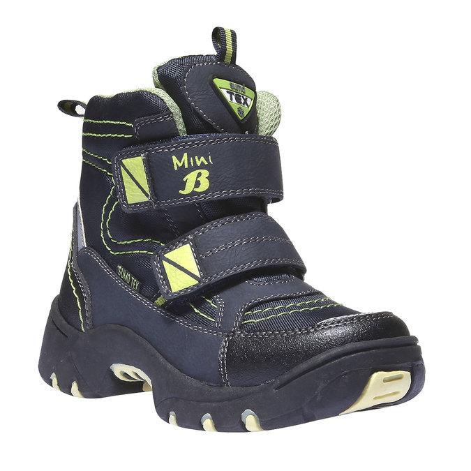 Detská obuv mini-b, modrá, 299-9144 - 13