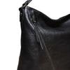 Dámska kabelka so zipsami bata, čierna, 961-6127 - 17