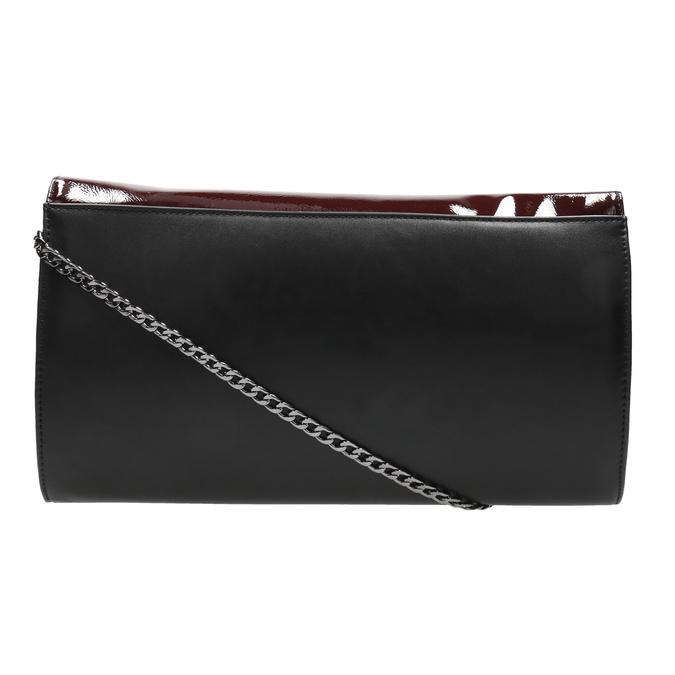 Dámska elegantná listová kabelka bata, červená, 961-5221 - 19