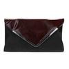 Dámska elegantná listová kabelka bata, červená, 961-5221 - 26