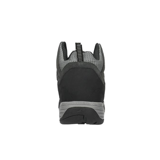 Členková kožená obuv v Outdoor štýle power, čierna, 803-6112 - 17