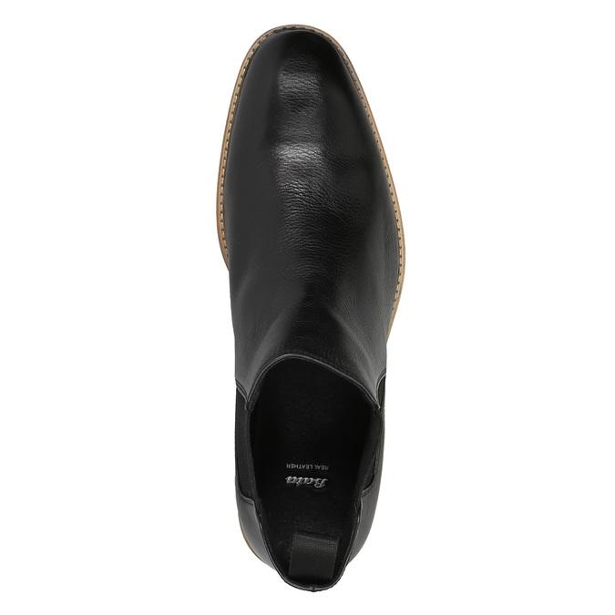 Kožené Chelsea Boots bata, čierna, 894-6666 - 19