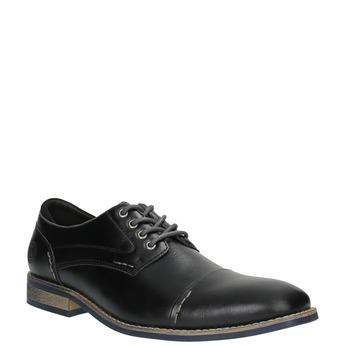 Pánske ležérne poltopánky bata, čierna, 821-6600 - 13