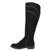 Dámské čižmy nad kolená čierne bata, čierna, 599-6602 - 19