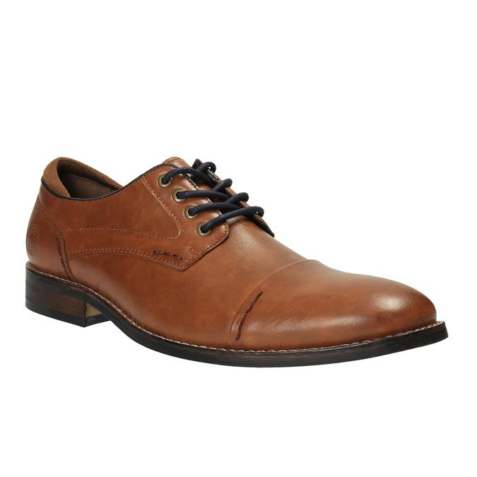 Pánske ležérne poltopánky bata, hnedá, 821-3600 - 13