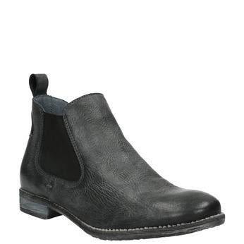 Kožené Chelsea Boots bata, čierna, 596-6641 - 13