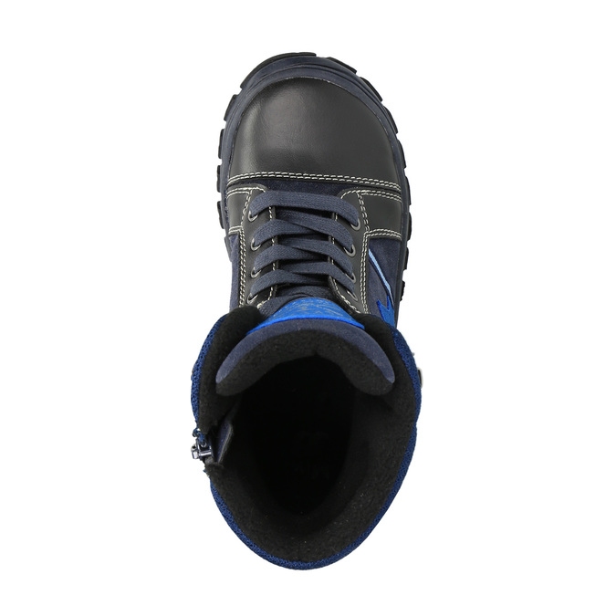 Detská zimná obuv mini-b, modrá, 411-9602 - 19