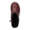 Kožené dievčenské čižmy mini-b, červená, 294-5200 - 19