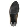 Dámské čižmy na podpätku bata, béžová, 799-2602 - 26