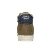 Detské tenisky s kožuškom mini-b, hnedá, 491-4600 - 17