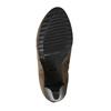 Členkové čižmy na podpätku s pružnými bokmi bata, béžová, 799-2601 - 26