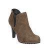 Členkové čižmy na podpätku s pružnými bokmi bata, béžová, 799-2601 - 13