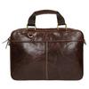 Pánská kožená brašna bata, hnedá, 964-4204 - 19