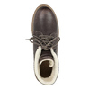 Dámska kožená zimná obuv weinbrenner, hnedá, 594-4491 - 19