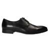 Čierne kožené poltopánky bata, čierna, 824-6732 - 15