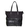 Kabelka v Shopper štýle bata, čierna, 961-6847 - 26