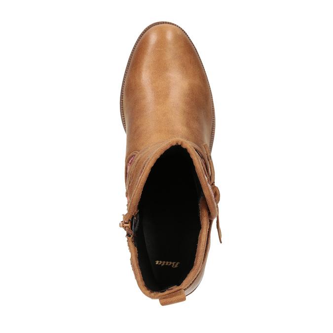 Členkové čižmy v Etno štýle bata, hnedá, 599-4604 - 19