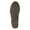 Dámska členková  obuv so zipsami bata, hnedá, 591-3612 - 26