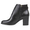 Kožené dámske čižmy bata, čierna, 794-6447 - 15