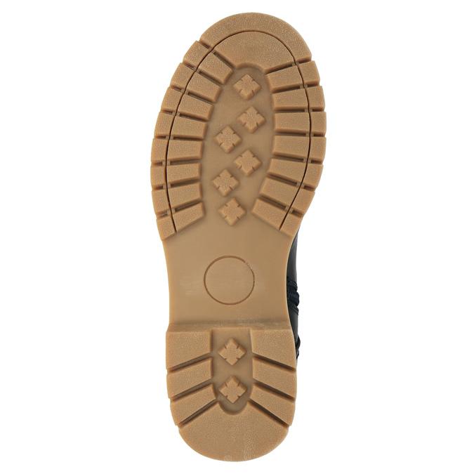 Detská zimná vysoká obuv mini-b, modrá, 491-9650 - 26