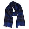 Modrý károvaný šál bata, modrá, 909-9215 - 13