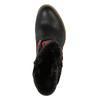 Členkové čižmy vo Western štýle so zateplením bata, čierna, 699-6603 - 19