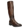 Dámske kožené čižmy bata, hnedá, 596-3608 - 13