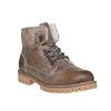 Dámska kožená zimná obuv weinbrenner, hnedá, 594-8491 - 13