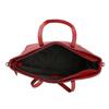 Červená kabelka v Shopper štýle bata, červená, 961-5647 - 15