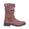Kožené dievčenské čižmy mini-b, ružová, 394-5100 - 15