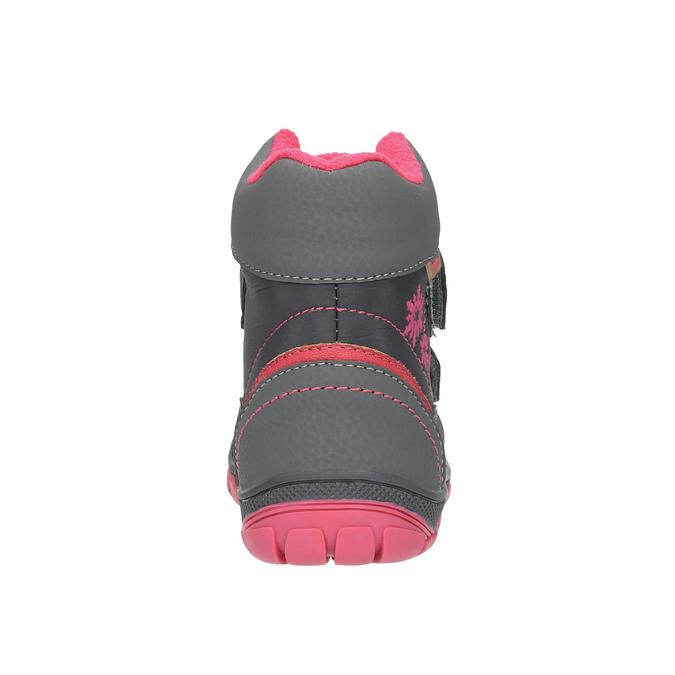 Členková detská obuv mini-b, šedá, 299-2610 - 17