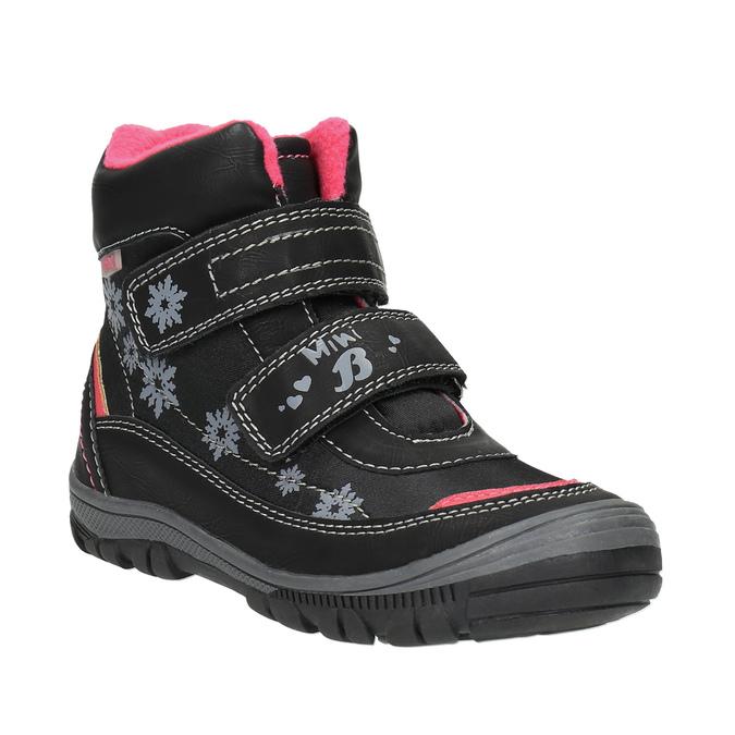 Detská členková obuv mini-b, čierna, 299-6610 - 13