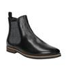 Dámske kožené Chelsea Boots bata, čierna, 596-6607 - 13