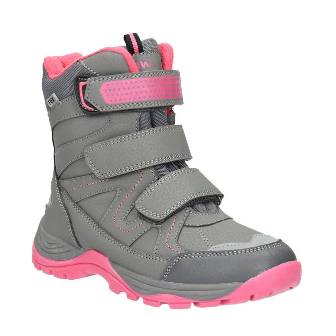 Detská zimná obuv mini-b, šedá, 391-2100 - 13