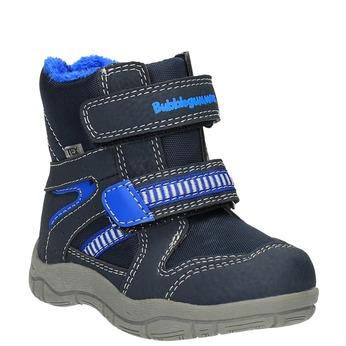 Detská zimná obuv bubblegummer, modrá, 199-9601 - 13