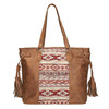 Dámska kabelka v Etno štýle bata, hnedá, 961-3669 - 19