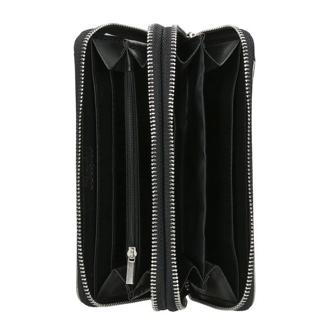 Dámska peňaženka v Patchwork štýle bata, čierna, 941-6152 - 15
