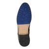 Členková pánska obuv s prackou bata, hnedá, 894-4652 - 26