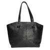 Čierna kožená kabelka bata, čierna, 964-6205 - 19