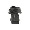 Kožené členkové tenisky s kožúškom bata, šedá, 593-2601 - 17