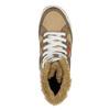 Dámska členková obuv s kožúškom bata, hnedá, 599-4606 - 19