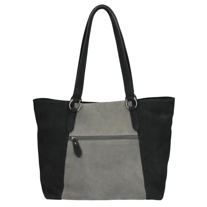 Dámská kožená kabelka bata, čierna, 966-6200 - 26