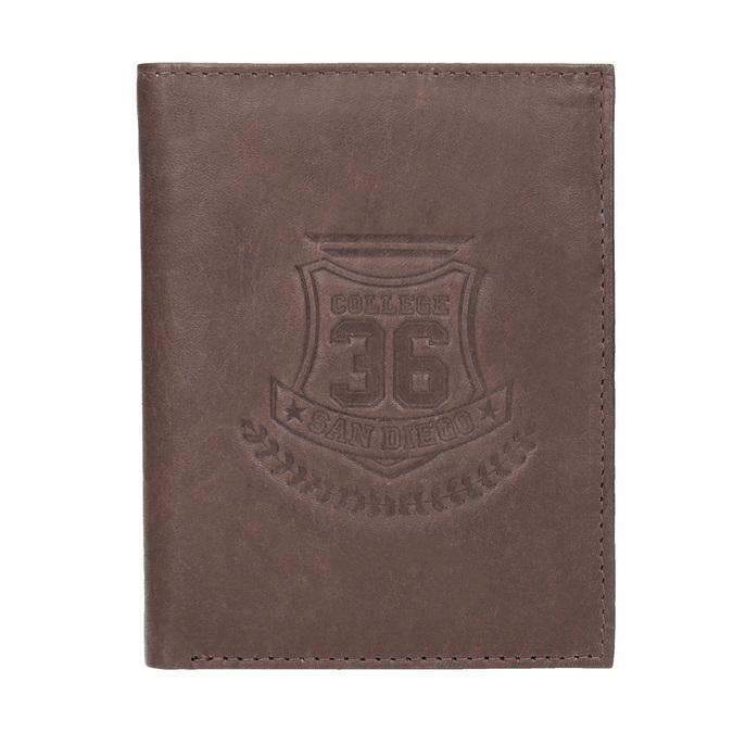 Štýlová pánska peňaženka bata, hnedá, 944-4172 - 26
