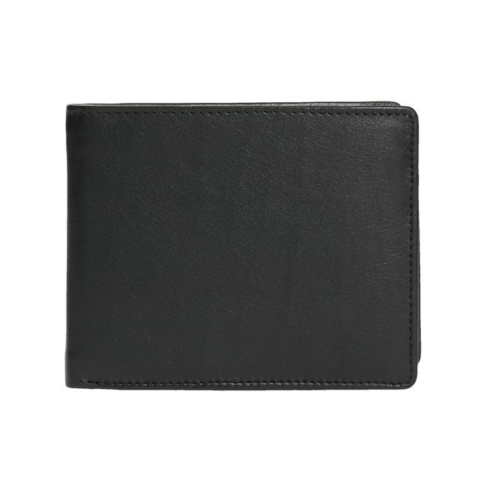 Pánska kožená peňaženka bata, čierna, 944-6170 - 26