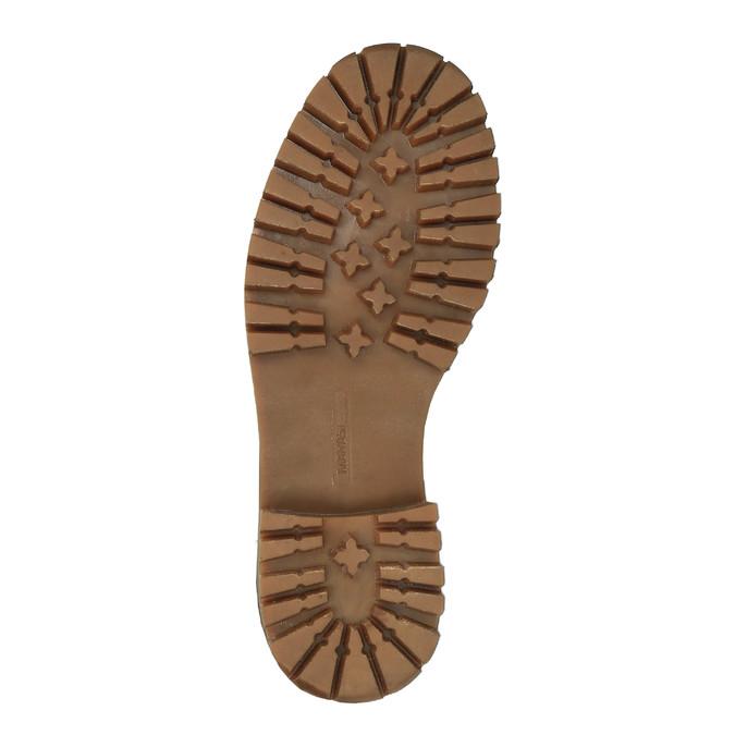 Dámska kožená zimná obuv manas, hnedá, 596-4602 - 26
