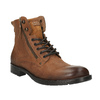 Pánska obuv v Ombré štýle bata, hnedá, 896-3649 - 13