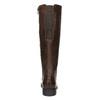 Kožené čižmy šírky H bata, hnedá, 596-4611 - 17