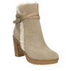 Členková obuv s kožúškom bata, šedá, 793-2600 - 13